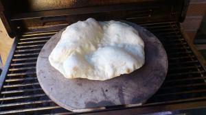 Semi Puffed Pita