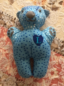 Blue spotted Teddy